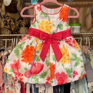 Floral print 6month dress